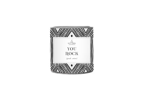 The Gift Label The Gift Label Scented Candle in Tin You Rock 310 g