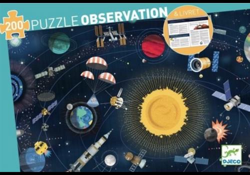 Djeco Djeco Observatie Puzzel Space 200 st