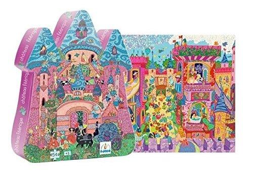 Djeco Djeco Puzzel Het Feeërieke Kasteel 54 st