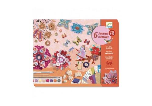 Djeco Djeco Multi-Activity Kit Flower Garden