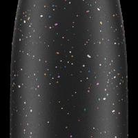 Chilly's  Dubbelwandige Isoleerfles Spikkel Editie - Zwart 500 ml