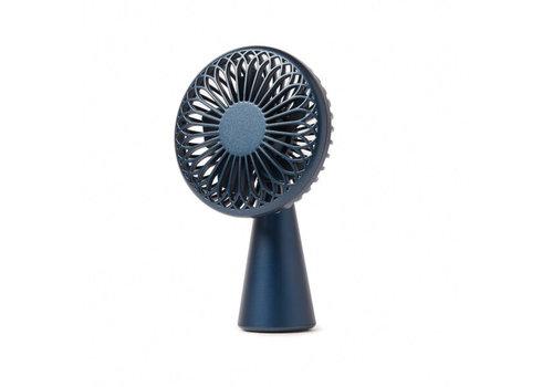 Lexon Lexon Wino Mini Fan Wireless Rechargeable Dark Blue