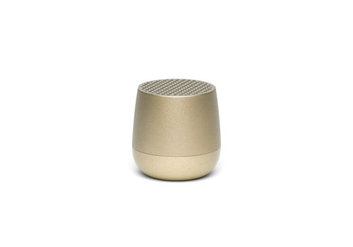 Lexon Lexon Mino+ Speaker Wireless Rechargeable Soft Gold