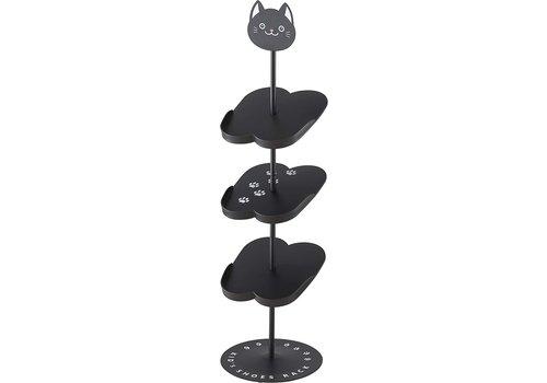 Yamazaki Yamazaki Kids Shoes Rack Black Cat