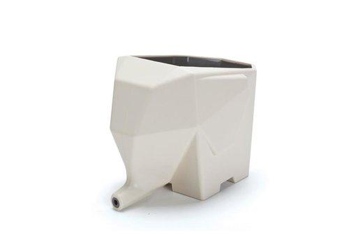 Peleg Design Peleg Design Jumbo Afdruipbakje Voor Bestek Gebroken Wit
