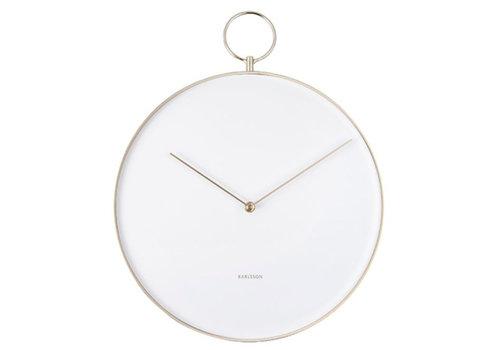 Karlsson Karlsson Wall Clock Hook Metal white
