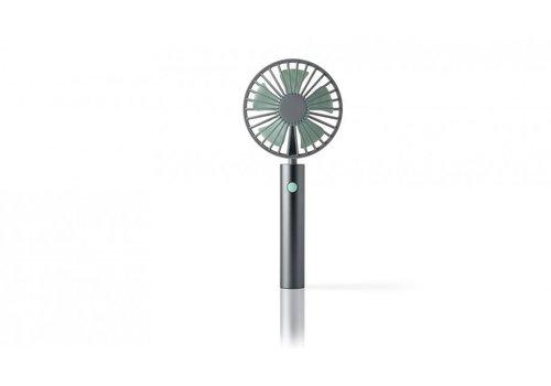 Remember Remember Flow Mini Fan Grey/Mint