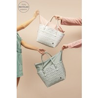 Handed By Color Deluxe Shopper Greyish Green