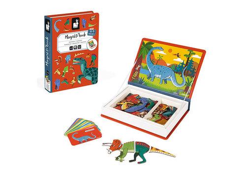 Janod Janod Magneti'book Dinosaurussen