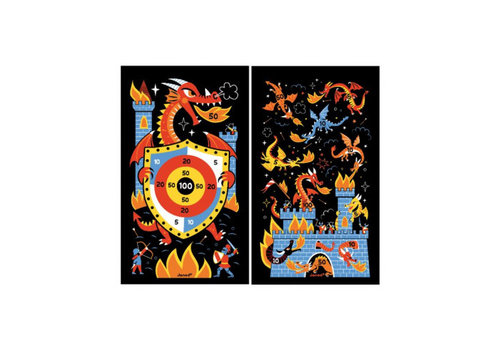 Janod Janod Magnetic Dart Game Dragons