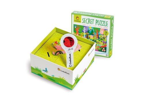 Ludattica Ludattica Secret Puzzel Het Bos 24 st