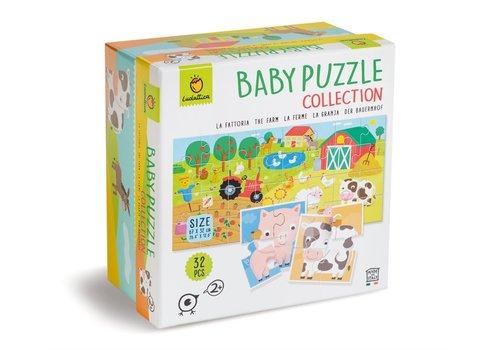 Ludattica Ludattica Baby Puzzel Collectie de Boerderij 32 st