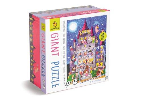 Ludattica Ludattica Giant Puzzle Fairies and Orcs 48 pcs