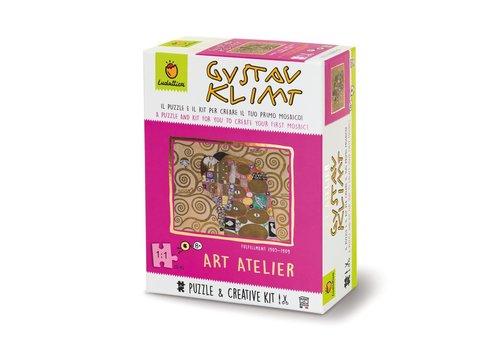 Ludattica Ludattica Puzzel & Creatieve Set Art Atelier Gustav Klimt 252 st