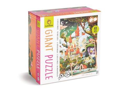 Ludattica Ludattica Giant Puzzle The Magic Castle 48 pcs