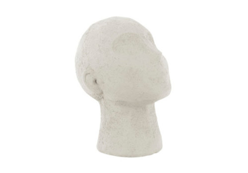 Present Time Present Time Statue Face Art UP Polyresin ivory