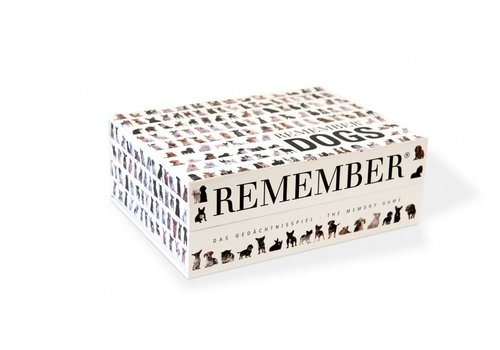 Remember Remember Memory Game Dogs