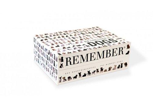 Remember Remember Memory Spel Dogs