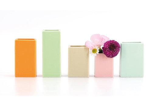 Remember Remember Set Of 5 Mini Vases