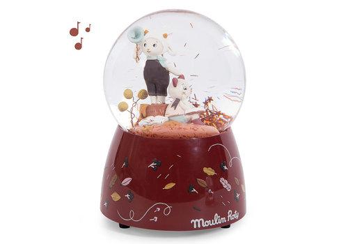 Moulin Roty Moulin Roty Musical Snow Globe 'Après la Pluie'
