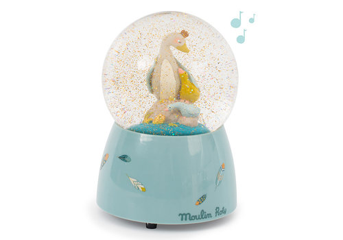 Moulin Roty Moulin Roty Musical Snow Globe 'Le Voyage d'Olga'