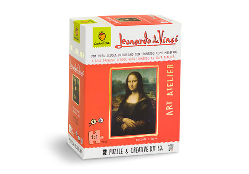 Ludattica Ludattica Puzzel en Creatieve Set Art Atelier Leonardo Da Vinci 252 st