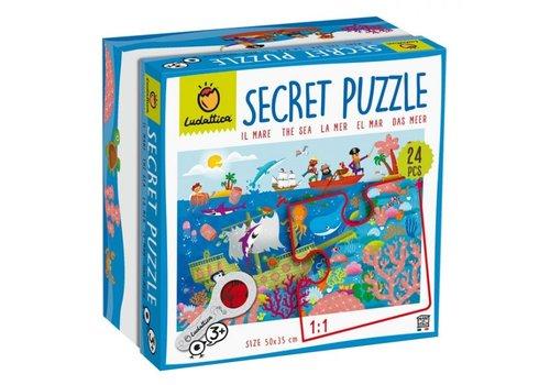 Ludattica Ludattica Secret Puzzel De Zee 24 st