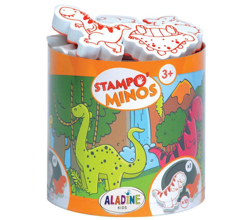 Aladine Stampo Minos Dinosaurus