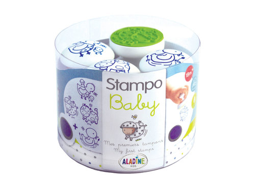 Aladine Aladine Stampo Baby Farm Animals