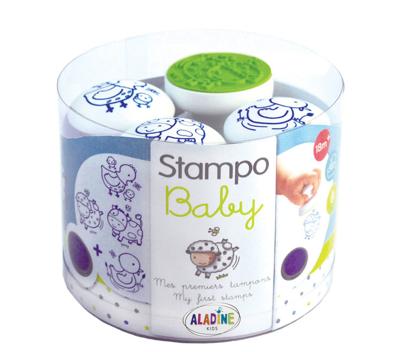 Aladine Stampo Baby Boerderij Dieren
