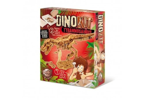 Buki Buki Dinokit Uitgraaf Set Tyrannosaurus