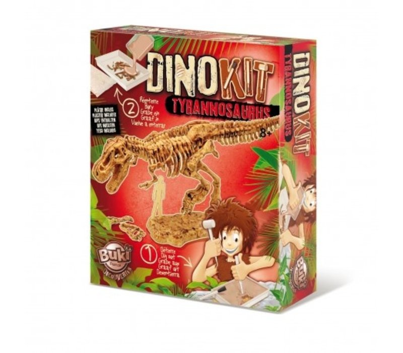 Buki Dinokit Uitgraaf SetTyrannosaurus