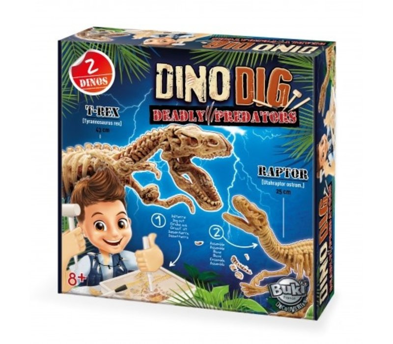 Buki Dino Dig Uitgraafset