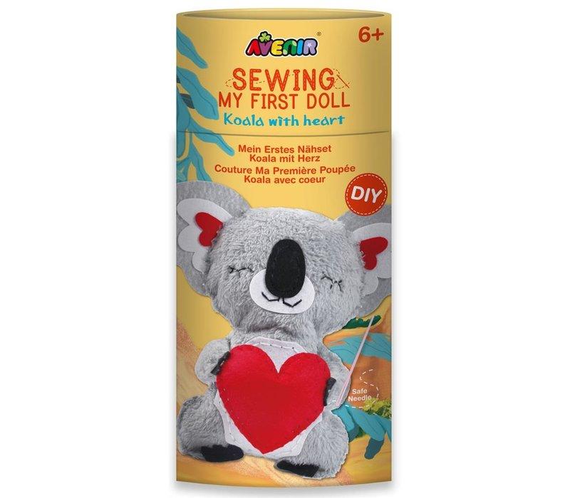 Avenir Mijn Eerste Naaiset Koala Met Hart