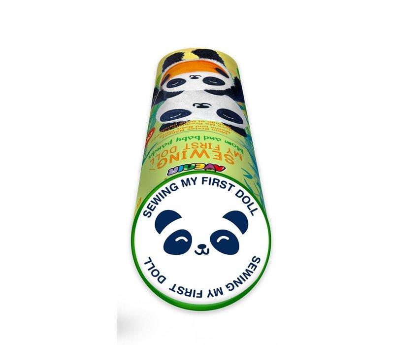 Avenir Mijn Eerste Naaiset Mama en Baby Panda