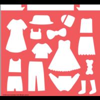 Avenir Scratch Dress up Fun Schetsboek