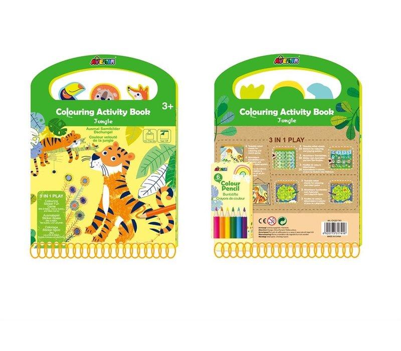 Avenir Kleur- en Spelboek Jungle