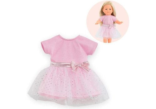 Corolle Corolle Pink Sparkling Dress for Doll 36cm