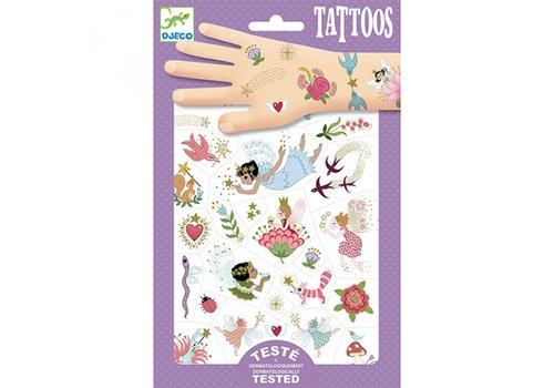 Djeco Djeco Tattoos Feeën Vriendjes