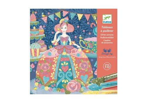 Djeco Djeco Glitter Schilderijen Daydream