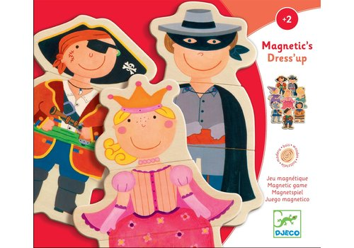 Djeco Djeco Magneetspel Magnetic's Dress'up