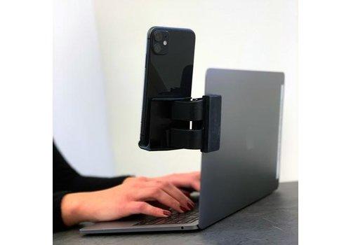 Kikkerland Kikkerland Computer Clip-On Phone Stand