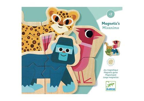 Djeco Djeco Magnetic's Wooden Magnetic Game Maxanimo