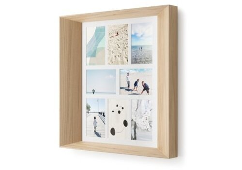 Umbra Umbra Lookout Wall Multi-Picture Frame Natural