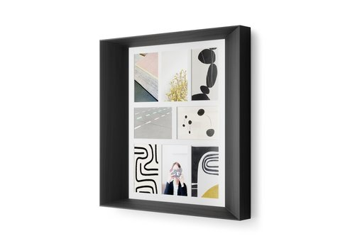 umbra Umbra Lookout Wall Multi-Picture Frame black