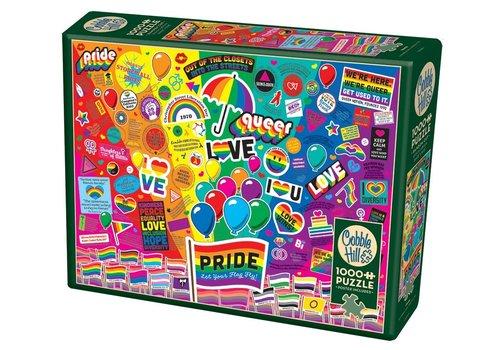 Cobble Hill Cobble Hill Puzzel Pride 1000st