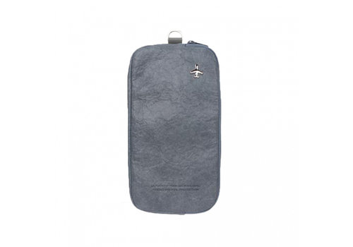 Alifedesign Alifedesign HF Zipurse L Travel Pouch grey blue