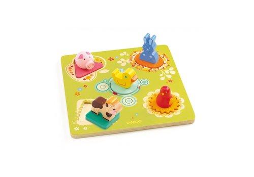 Djeco Djeco Plug-in puzzle Bildi