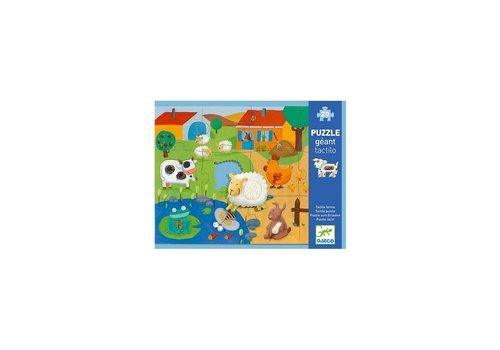 Djeco Djeco Tactilo Puzzle Farm 20 pcs