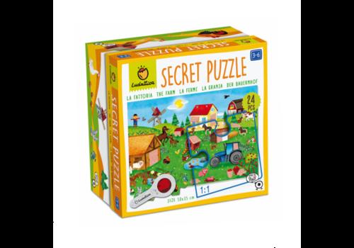 Ludattica Ludattica Secret Puzzle The Farm 24 pcs